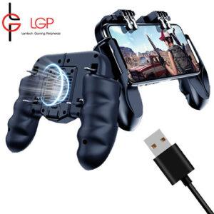 LGP Ψυκτικό GAMEPAD 4-Δακτύλων PUBG Για ANDROID & IOS WITH USB