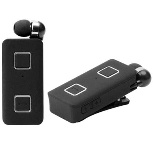 Ακουστικό Bluetooth XNOUS Paradox Retractable (με δόνηση multipoint - μαύρο)