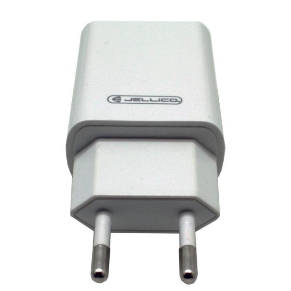 Φορτιστής JELLICO USB Fast Charger 2.1A (με καλώδιο lighting)