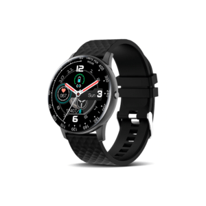 Smartwatch No brand H30, 42mm, Bluetooth, IP67, Μαυρο