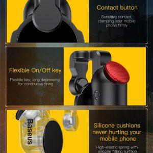 BASEUS buttons για οθόνες αφής ACHDCJ-01, 2τμχ, μαύρα 2