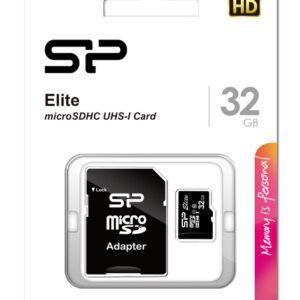SILICON POWER κάρτα μνήμης Elite microSDXC UHS-1, 32GB, Class 10