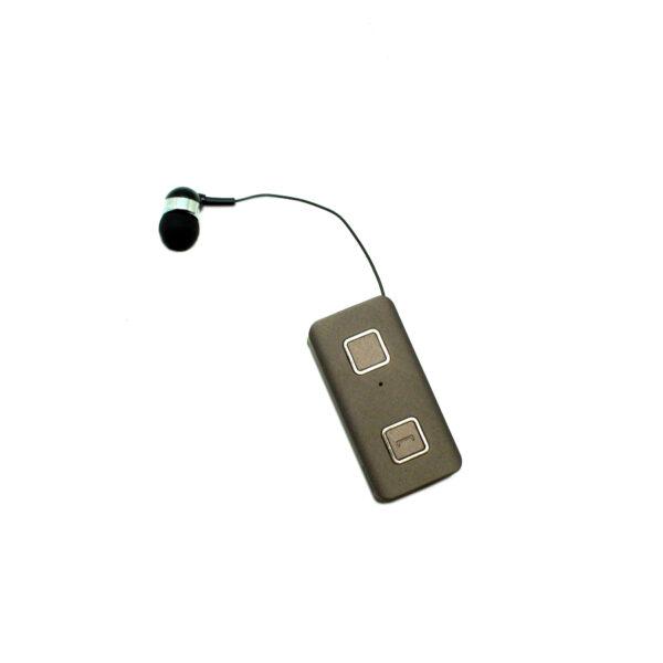 Ακουστικό Bluetooth XNOUS Paradox Retractable (με δόνηση multipoint - μπρονζέ)