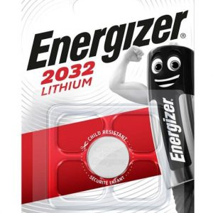 ENERGIZER μπαταρία λιθίου CR2032, 3V, 1τμχ