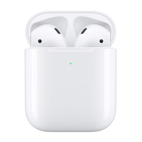 Ασύρματα ακουστικά (bluetooth + ασύρματη φόρτιση i500 2nd gen TWS v5.0+ EDRBLE - λευκά)
