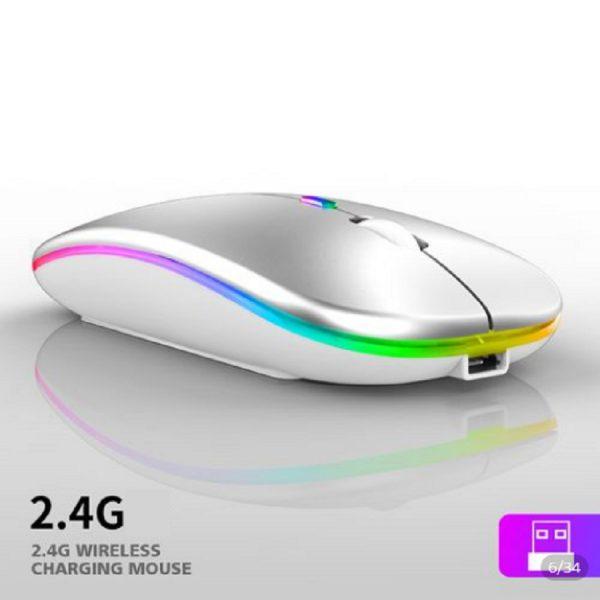 Ποντίκι Luminus 2.4g wireless (άσπρο) 1