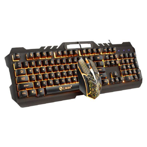 Σετ Πληκτρολόγιο – Ποντίκι T21 Metal Storm 2