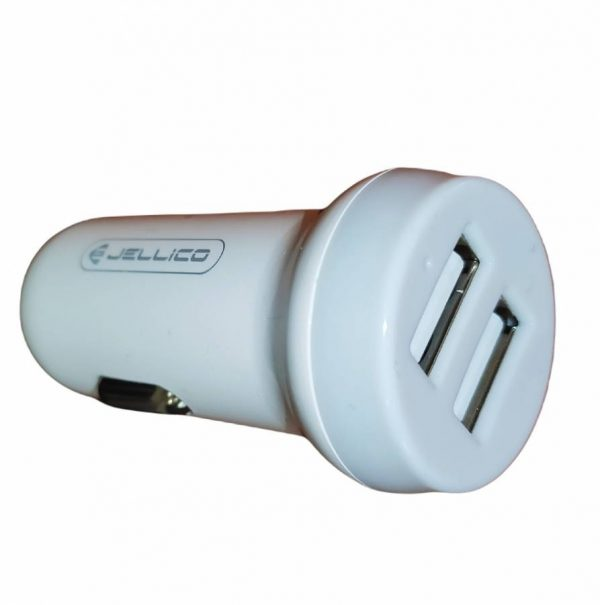 Φορτιστής Αυτοκινήτου JELLICO FC-32 Dual USB 3.1A (άσπρο)