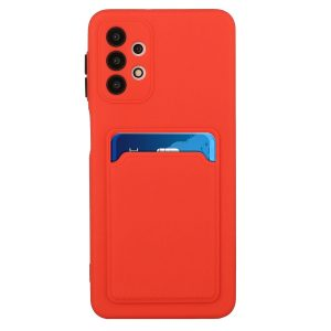 Θήκη Samsung S21 Ultra 5G Galaxy Back Cover με Υποδοχή Κάρτας (κόκκινο)